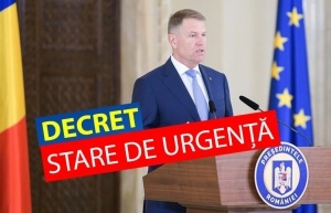 Decret Stare de Urgenta Romania